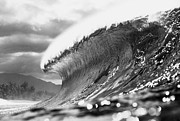 Ocean Waves Photos - Silver Lining by Sean Davey