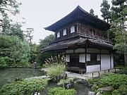 Silver Pavilion - Kyoto Japan Print by Daniel Hagerman