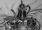 Christopher Kyle Art - Silver Set by Christopher Kyle