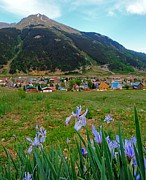 Country Music Town Prints - Silverton Colorado Print by Dan Sproul