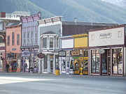 Store Fronts Framed Prints - Silverton Colorado Framed Print by Jennifer Lavigne