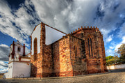 Nigel Hamer Metal Prints - Silves Cathedral Metal Print by Nigel Hamer