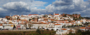 Nigel Hamer Prints - Silves Panarama Print by Nigel Hamer