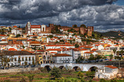 Nigel Hamer Metal Prints - Silves Portugal Metal Print by Nigel Hamer