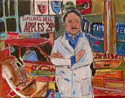 Michael Litvack Art - Simcha on the Main by Michael Litvack
