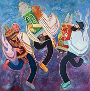 The Torah Art - Simchat Torah by Chana Helen Rosenberg
