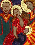 Agnus Art - Simeon Sees the Christ by Jennifer Wilkinson Rynbrandt