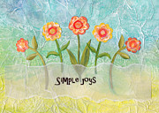 Vellum Prints - Simple Joys Print by Carla Parris