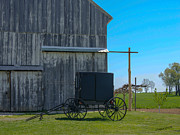 Amish Farms Photos - Simple Life by Timothy Clinch