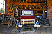 Car Repairs Photo Prints - Simpler Times 2 Print by Steve Harrington