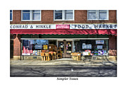 Grocery Store Framed Prints - Simpler Times Framed Print by Terry Spencer