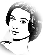 Audrey Digital Art - Simply Audrey by Stefan Kuhn