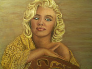 Featured Pastels Acrylic Prints - Simply Marilyn Acrylic Print by D Rogale