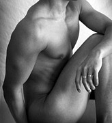 Male Nude Prints - Simply Print by Mark Ashkenazi