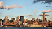 New York City Skyline Art - Simpson Skies by JC Findley