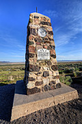 Simpson Posters - Simpson Springs Pony Express Station Monument - Utah Poster by Gary Whitton