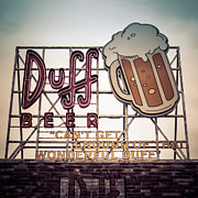 Edward Fielding - Simpsons Duff Beer Neon...
