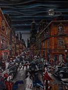 Sin Street Print by Milan Keleuva
