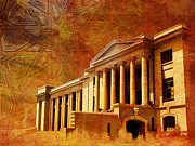 Architecture  Drawings Paintings - Sindh High Court by Catf