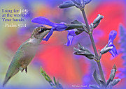 Inspirational Prints - Sing for Joy Print by Debra Straub