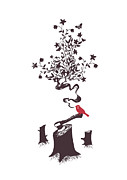Earth Song Prints - Sing me a sad song Print by Budi Satria Kwan