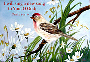 Zelma Hensel Framed Prints - Sing unto the Lord Framed Print by Zelma Hensel