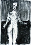 Sketch Drawings - Singer by Edgeworth Johnstone