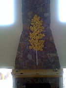 Kelly Sculpture Originals - Single Yellow Aspen by Kelly Smith Cassidy