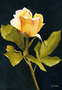 Ken Painting Originals - Singular Beauty by Ken Powers
