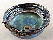 Glazed Pottery Ceramics - Sink Series 0025 by Richard Sean Manning