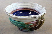 Glazed Pottery Ceramics - Sink Series 0027 by Richard Sean Manning
