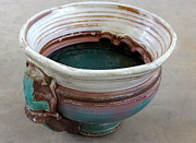Glazed Pottery Ceramics - Sink Series 0031 by Richard Sean Manning