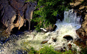 Gatlinburg Photos - Sinks Waterfall by Karen Wiles