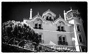 Old School House Prints - Sintra Living Print by John Rizzuto