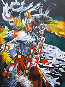 Kevin J Cooper Artwork - Sioux Dancer