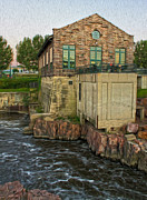 Sioux Falls - 05 Print by Gregory Dyer
