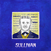 Sullivan Metal Prints - Sir Arthur Sullivan Metal Print by Paul Helm