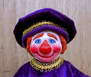 Clown Sculpture Posters - Sir Simon Poster by David Wiles