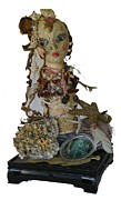 Siren Sculpture Metal Prints - Siren Metal Print by Avonelle Kelsey