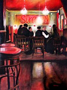 Wa Paintings - Sirens Pub by Marti Green