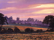 Sissinghurst Castle Sunset Print by David Lloyd Glover