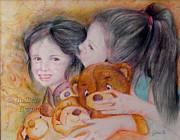 Sisters Print by Gulsen Beasley