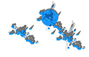 Y-axis lab - Site Plan in Blue...