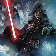 Star Digital Art Posters - Sith Cultist Poster by Ryan Barger