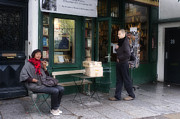 Shakespeare Originals - Sitting at Shakespeare and Co. by Hugh Smith