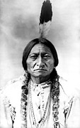 Ghost Framed Prints - Sitting Bull Framed Print by Bill Cannon