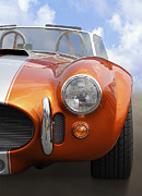 Orange Car Art - Sitting Pretty - Cobra by Mike McGlothlen