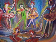 Waltz Paintings - Six eight waltz by Judith Desrosiers