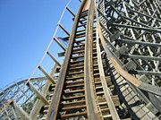 Roar Photos - Six Flags America - Roar Roller Coaster - 12123 by DC Photographer