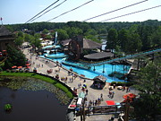 Nj Photo Metal Prints - Six Flags Great Adventure - 121213 Metal Print by DC Photographer